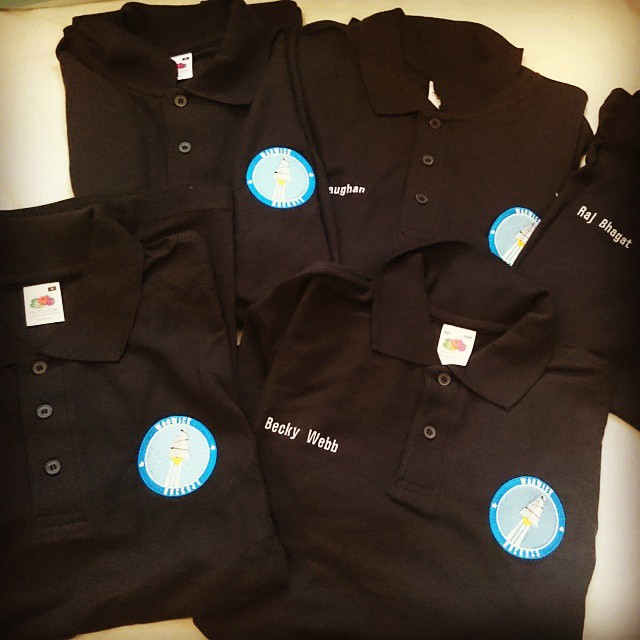 Our polos have arrived! Dont you think they look great?hellip