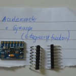 Accelerometer & Gyroscope for the flight computer.